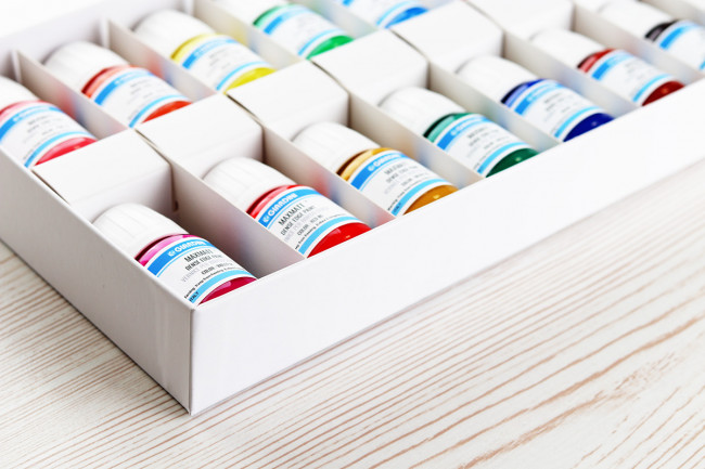 Color set Dense edge paint (30 ml)